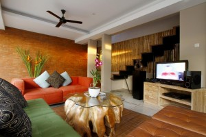 10. Comfortable living area
