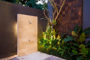 16. Outdoor shower